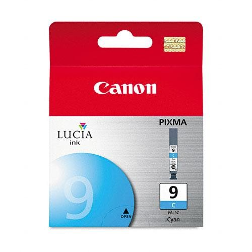 Top Quality By Canon Lucia PGI-9C Cyan Ink Cartridge - Inkjet - Cyan