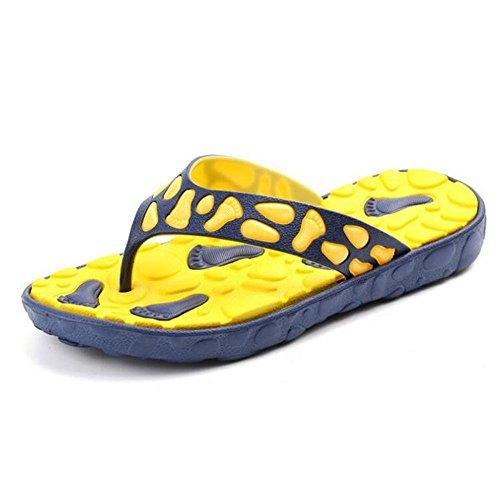Ciabatte Infradito Da Uomo Outdoor Pantofole Leggere Comfort Sandali Infradito Spiaggia Infradito Giallo