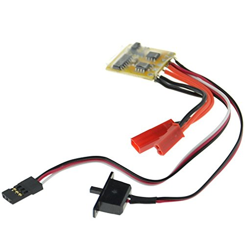 - RC Car 10A Brushed ESC Motor Speed Controller Two Way No Brake For 1/16 1/18 Car Boat Tank