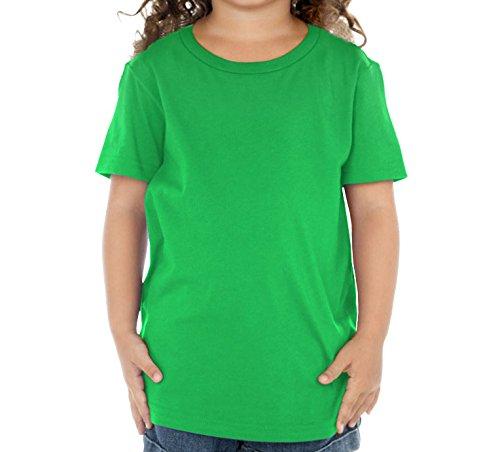 Toddler Green Girls (Kavio! Toddlers Crew Neck Short Sleeve Tee (Same TJP0494) Kelly Green 5T)