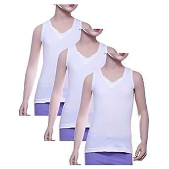Mariposa White Under Shirt For Girls