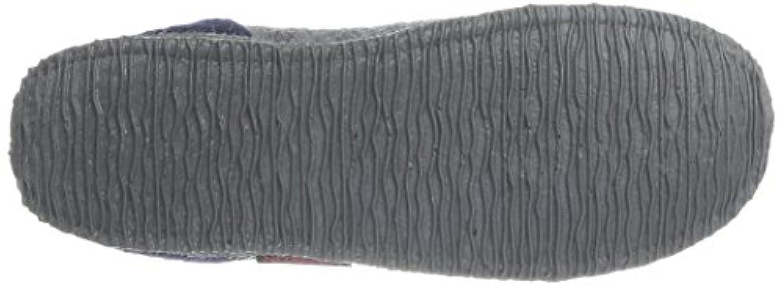 Giesswein Boys Kramsach Slippers Gray - Grau (schiefer) 36 EU