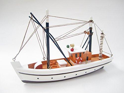 Dipper Starter Boat Kit: Build Your Own Lobster Boat Wooden Model Ship by Tasma
