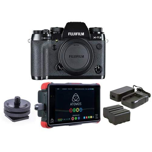 Amazon.com: Fujifilm X-T2 Mirrorless Camera Body, Black ...