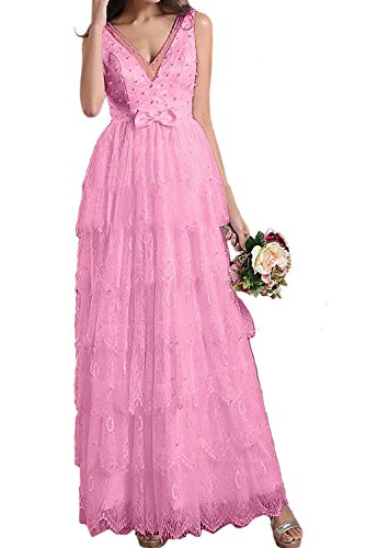 TOSKANA BRAUT - Vestido - trapecio - para mujer rosa claro
