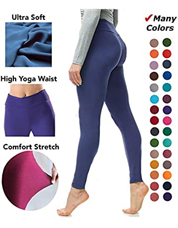 77c9d920c92553 Luxurious Quality High Waisted Leggings for Women | Workout & Yoga Pants  Plus
