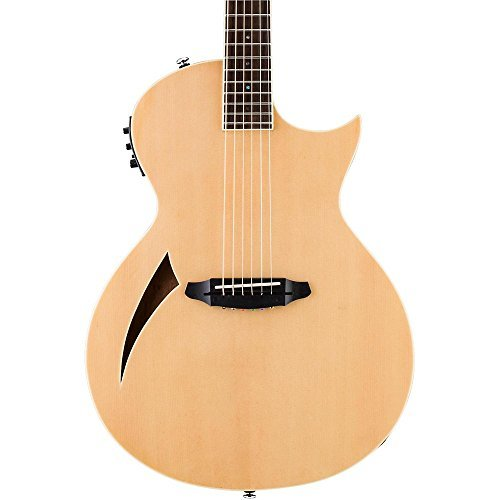 ESP LTD TL-6 Thinline Series Acoustic Electric Guitar, Natur