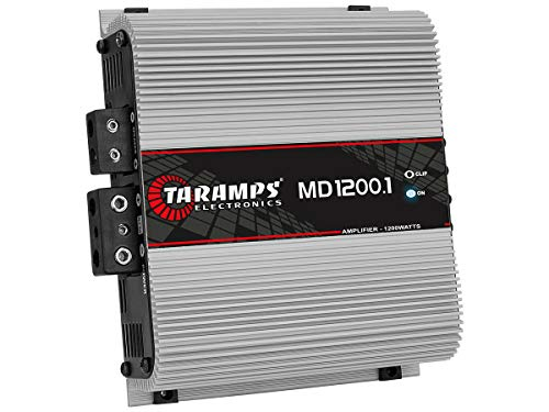 1200 Bass Amplifier - Taramp's MD 1200.1 1 Ohm 1200 Watts Class D Full Range Mono Amplifier