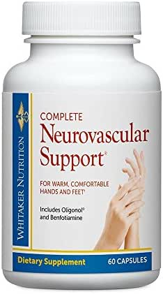 Dr. Whitaker's Complete Neuro-Vascular Support Supplement for Nerve Function and Microcirculation, 60 Capsules (30-Day Supply)