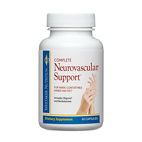 Dr. Whitakers Complete Neuro-Vascular Support Supplement for Nerve Function and Microcirculation, 60 Capsules (30-Day Supply)