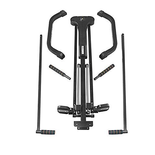FEIERDUN Vertical Climber, Climbing Machine Full Total Body Workout Fitness Folding Cardio Climber Exercise Machine