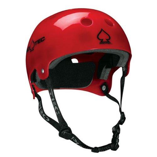 PROTEC Original Bucky Skate Helmet, Translucent Red, Small