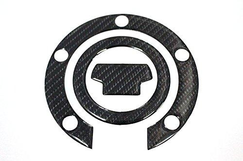 3D Carbon Fiber Tank Gas Cap Pad Filler Cover Sticker Decals For YAMAHA R1 2000-2015 R6 2001-2015