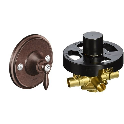 - Moen TS3210ORB-2570 Weymouth Posi-Temp Valve Trim with Valve, Oil Rubbed Bronze