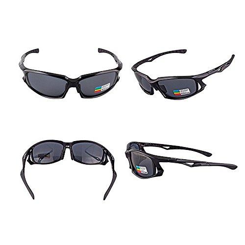Alpinisme Noir Protection Sports Lunettes De Noir Conduisant Soleil De Lunettes pour Plein Homme en Couleur Air Polarisées Nouvelles de LBY Lunettes YBqww