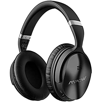 Mpow H5 Active Noise Cancelling Headphones, ANC Over Ear Wireless Bluetooth Headphones w/Mic, Dual 40 mm Drivers, Superior Deep Bass for PC/Cell Phone ...