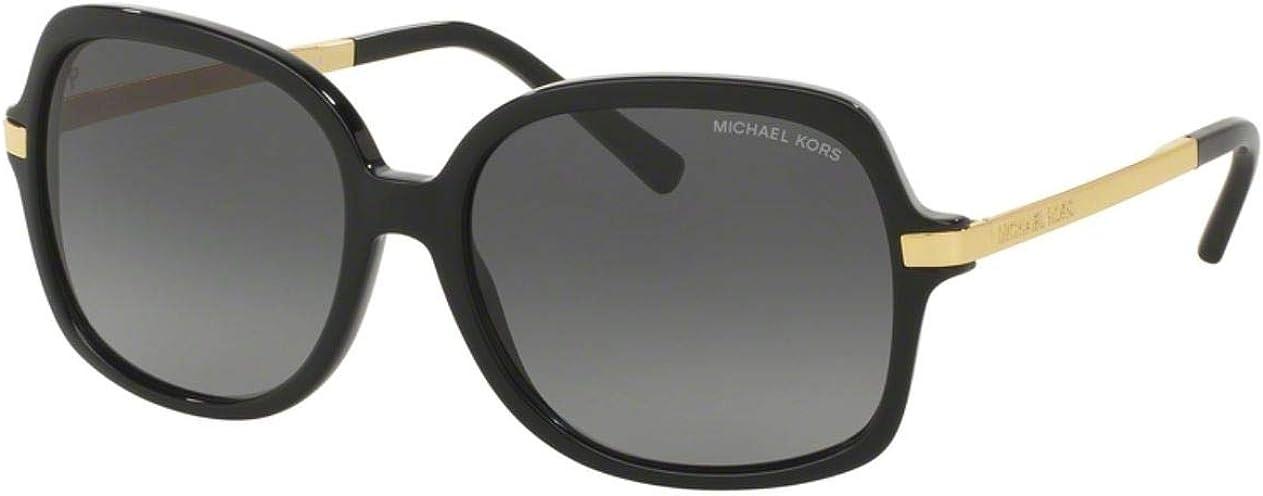 Michael Kors Plastic Frame Grey Gradient Lens Ladies Sunglasses MK2024F3160T357