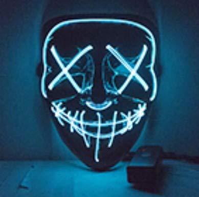 MSSJ Máscara de Halloween Vmangweet Máscaras de Fiesta con ...