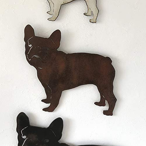 French Bulldog - Metal Wall Art home decor - Handmade - Choose 11