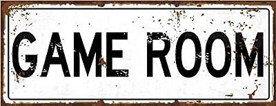 Gameroom Decorative Metal Sign