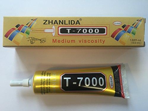 Zhanlida T-7000 - Kleber für Reparatur von iPad, Sony Xperia, Tablet, Watch (Flüssigkleber)