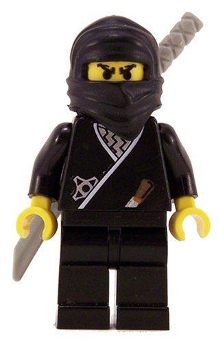 Ninja (Black) - LEGO Ninja Figure ()