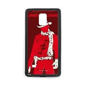 Samsung Galaxy Note 4 Cell Phone Case Black No184 My Django Unchained minimal movie poster SLI_635053