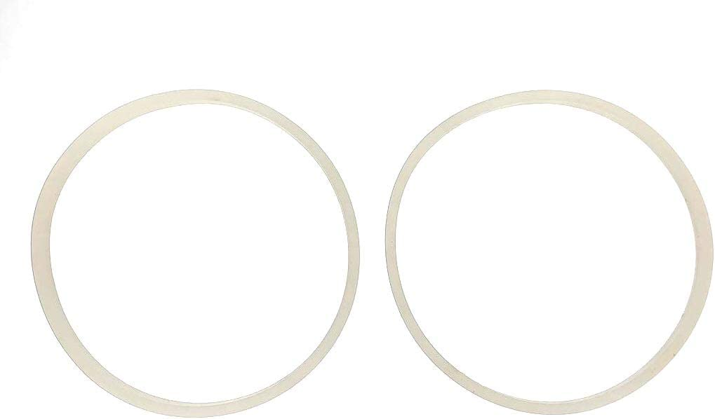 Fab International 2 pack Replacement Gasket Compatible with Cooks Power Pro 700 Watt Blender Gasket Plus Pouring Spout (After Market Part)