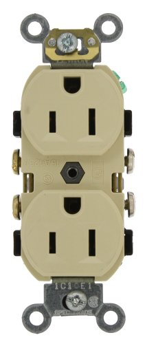 Leviton CR15 I Receptacle Commercial Grounding