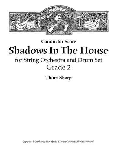 Shadows in the House for String Orchestra and Drum Set - Score ebook