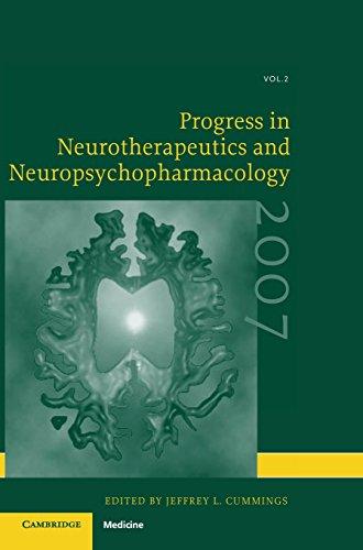 Progress in Neurotherapeutics and Neuropsychopharmacology: Volume 2, 2007