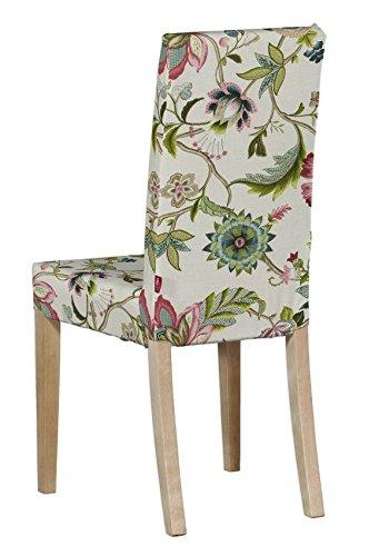 Dekoria Housse De Chaise Ikea Harry Multicolore Big Fleurs