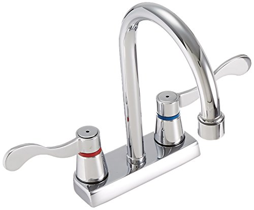 American Bath Factory Centerset Bathroom Chrome Faucet