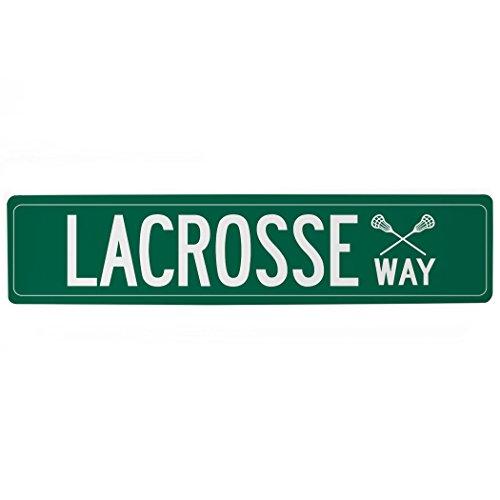 ChalkTalk SPORTS   Lacrosse Aluminum Room Sign   4