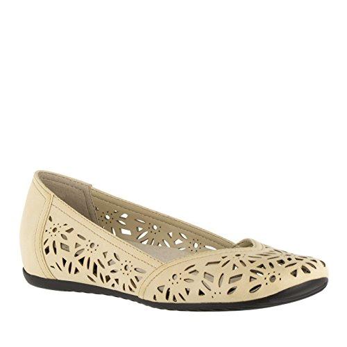 Easy Street Frauen Charlize Flache Schuhe Bone