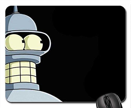 Bender-futurama Mouse Pad, Mousepad (10.2 x 8.3 x 0.12 inches)