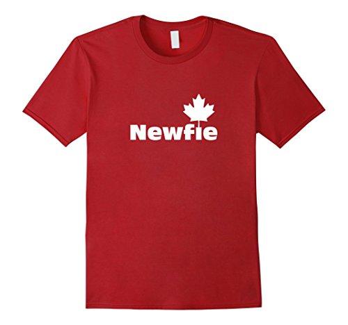 Men's Newfie Pride | Canada Newfoundland St. Johns T-shirt 3XL Cranberry (Shirt John St T)