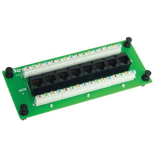 ICC Compact 8 Port CAT 5e Data Module