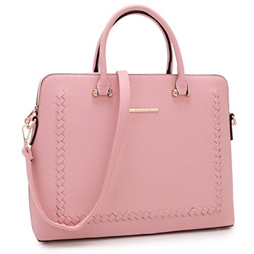 Dasein Leather Handbags Shoulder Satchel