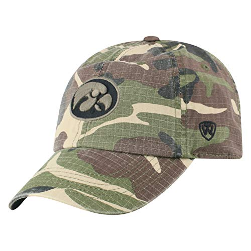 3d62d520a7c28 Iowa Hawkeyes Camouflage Caps
