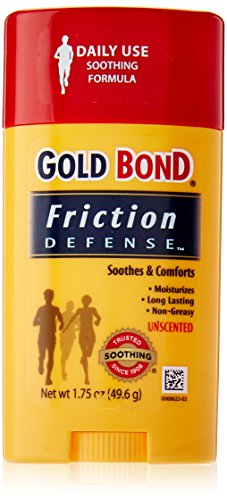 Gold Bond Friction Defense, Unscented, 1.75 Ounces each (Value Pack of 4) (Bonds Mens Briefs)