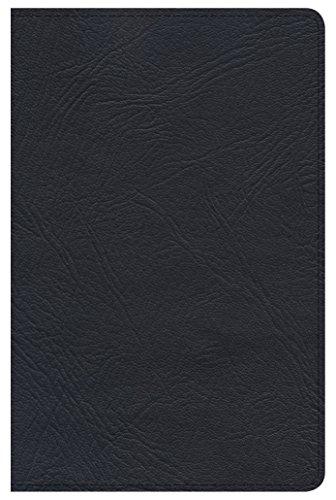 (Minister's Pocket Bible: NKJV Edition, Black Genuine Leather)