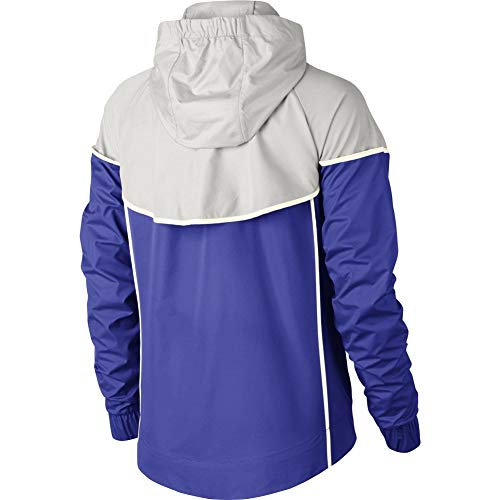 Nike Womens Windrunner Track Jacket Persian Violet/Vast Grey/Sail 883495-518 Size X-Small by Nike (Image #1)