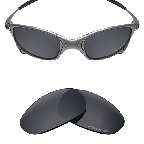 Mryok+ Polarized Replacement Lenses for Oakley Juliet - Stealth - Sunglasses Tech High