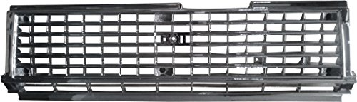 Toyota Cressida Grille - BUY N TRY Chrome Grille For Toyota Cressida MX72 MX73 1985-1986 With Clips TO1200161