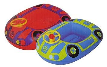 Baby Barca hinchable kinderboot Natación Boot Auto 2 Varios. Colores a Elegir flotador just4baby: Amazon.es: Juguetes y juegos