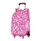 Best Rolling Backpacks For Girls - Kid Rolling Backpack for Girls Boys for School Review