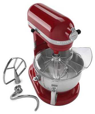KitchenAid Pro 600 ksm6573er Stand Mixer 10-speed RED Professional heavy duty For Sale