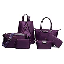 Top Shop Womens Shoulder Handbag Tote Bags Six-pieces set