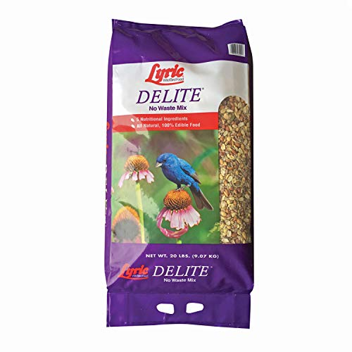 Lyric 2647462 Delite High Protein No Waste Wild Bird Mix - 20 lb. (Best Fruit Trees To Grow In Florida)